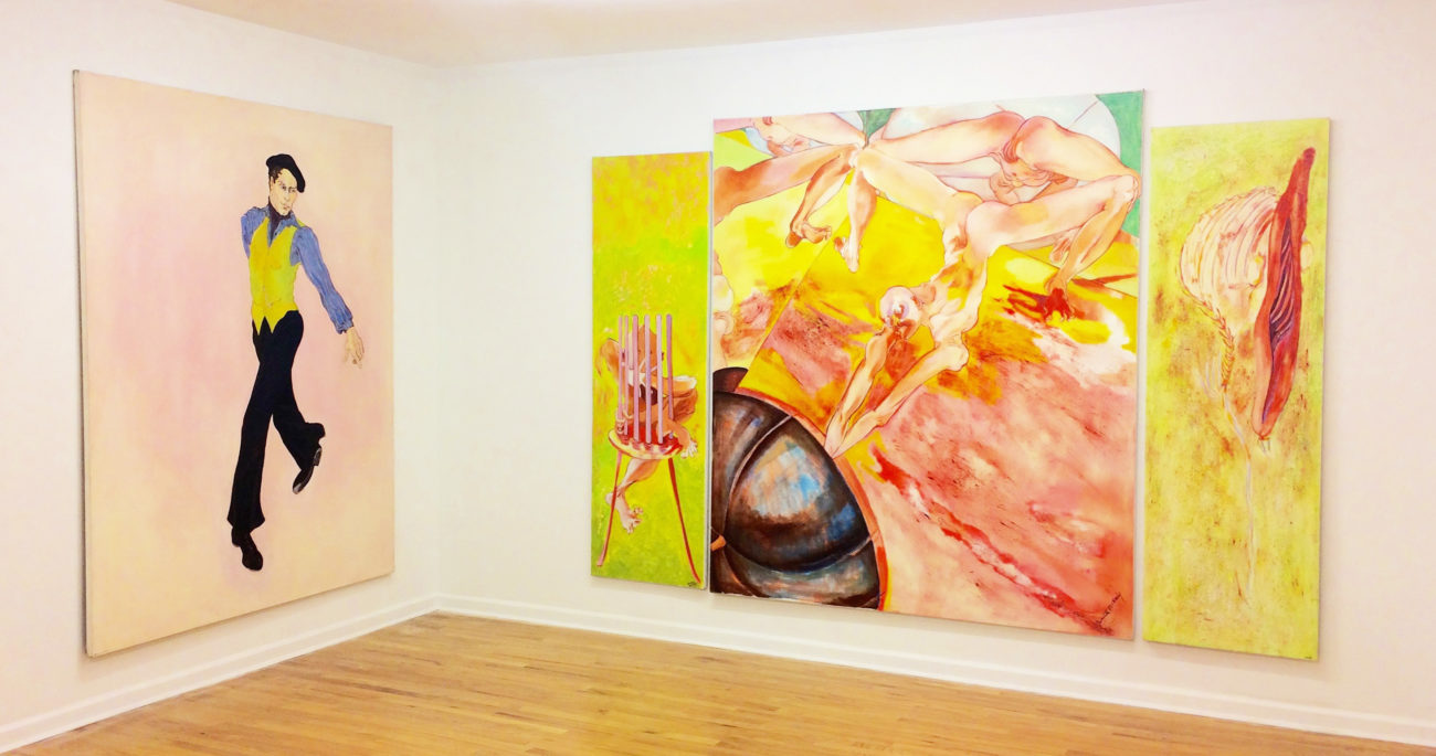 Juanita McNeely, Paintings, including Moving Through 1975 | Mitchell ...